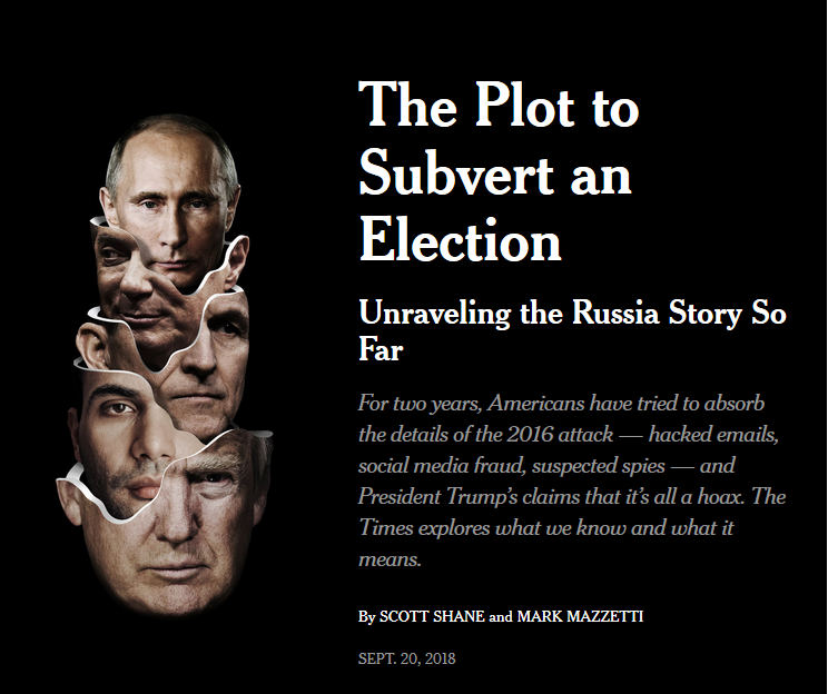 NYT: The Plot to Subvert an Election