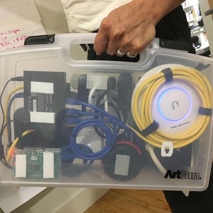 Portable Network Kit