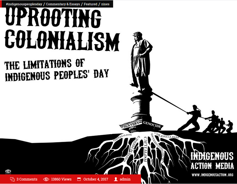 Indigenous Action Media: Uprooting Colonialism