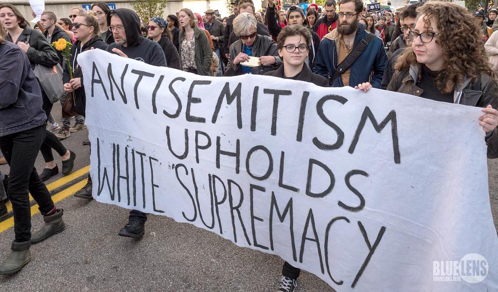 Antisemitism Upholds White Supremacy
