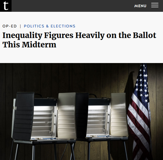 Truthout: Inequality Figures Heavily on the Ballot This Midterm