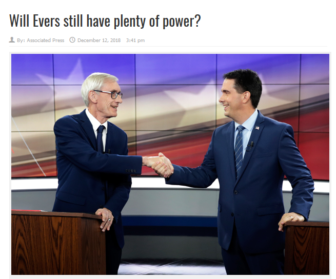 AP: Will Evers Still Have Plenty of Power?