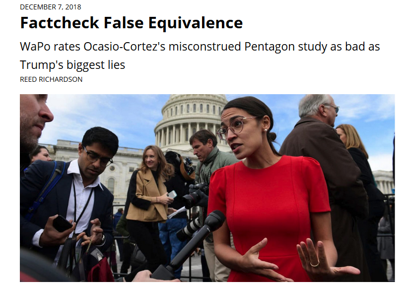 FAIR: Factcheck False Equivalence