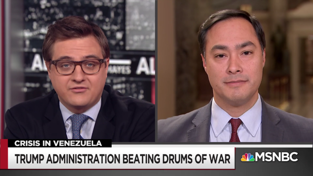 MSNBC: Trump Administration Beating Drums of War