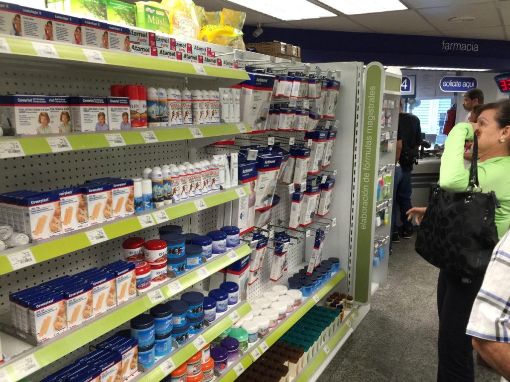 Venezuelan pharmacy