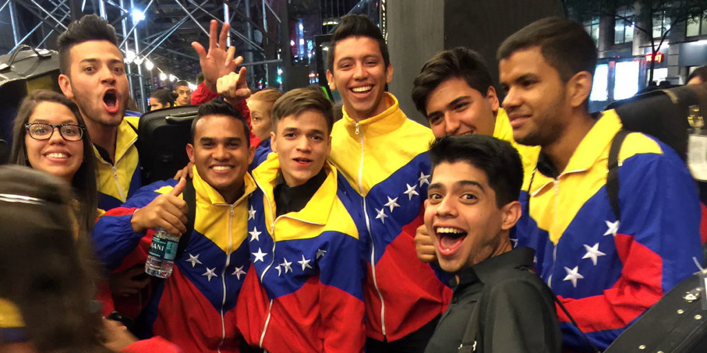 Venezuelan Youth Orchestra in New York City, 2016