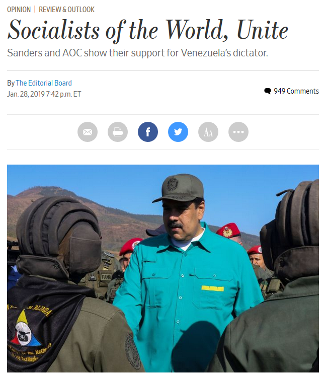 WSJ: Socialists of the World, Unite