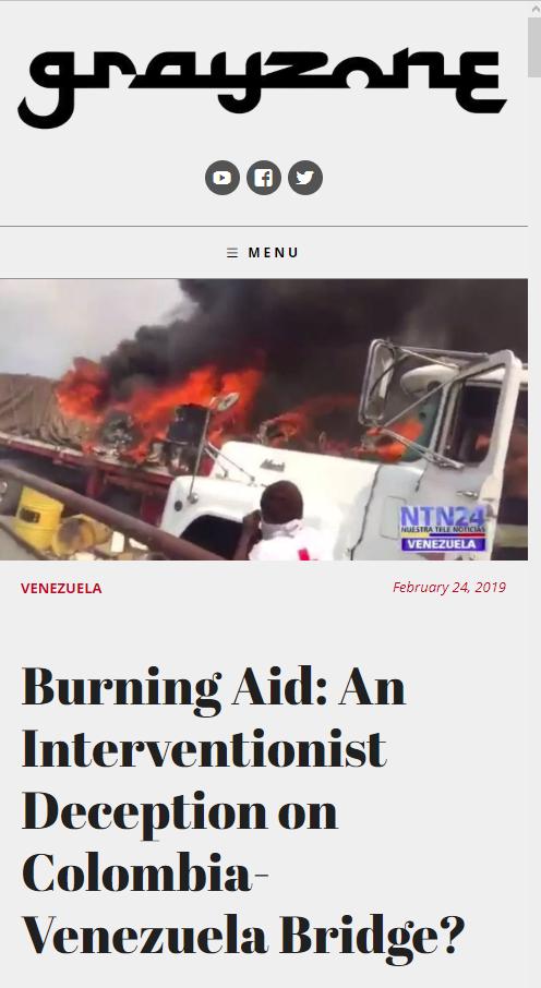 Grayzone: Burning Aid