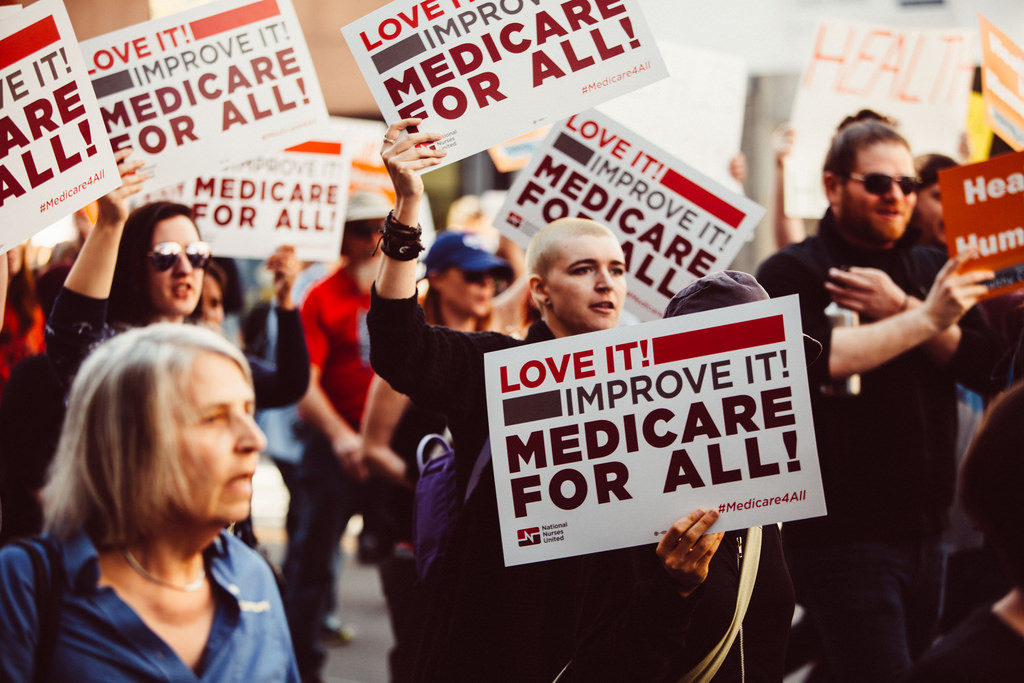 Medicare for All rally, Los Angeles 2017