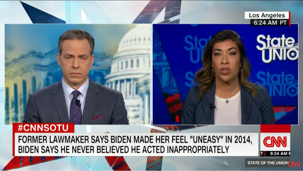 Jake Tapper interviews Lucy Flores on CNN