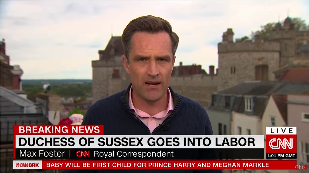 CNN: Duchess of Sussex Goes Into Labor