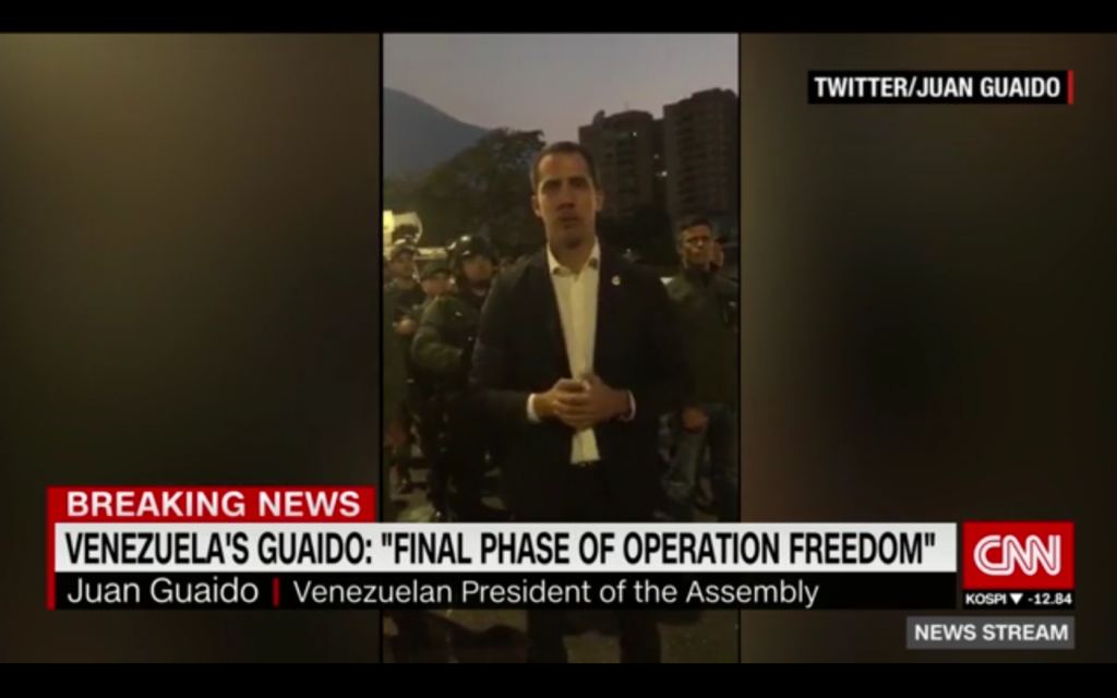 CNN: Venezuela's Guaido: Final Phase of Operation Freedom