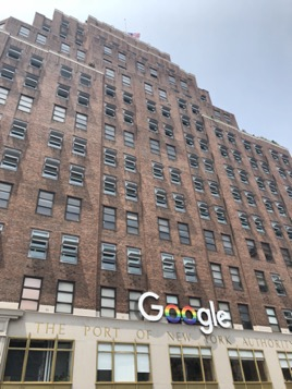 Google's New York headquarters