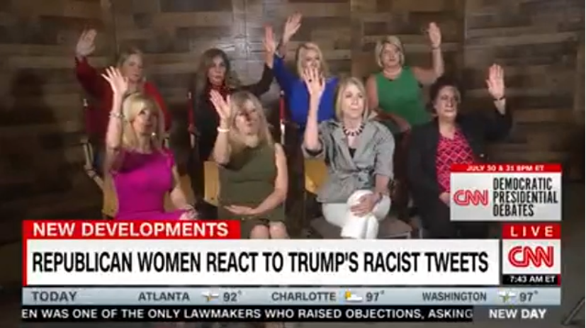 CNN: Republican Women React to Trump's Racist Tweets