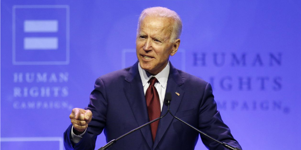 Wall Street Journal depiction of Joe Biden