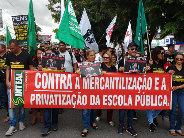 Protest against Bolsonaro, Alagoas