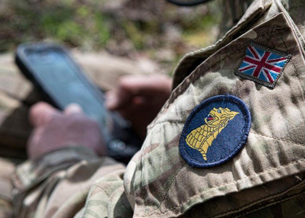 British pysops soldier (photo: RAF)