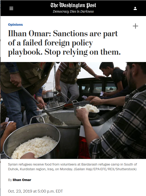 WaPo: Sanctions are part of a failed foreign policy playbook. Stop relying on them.