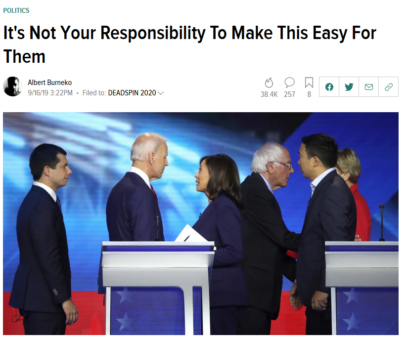 Deadspin: It's Not Your Responsibility To Make This Easy For Them