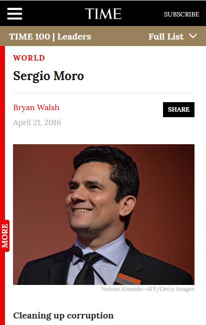 Time: Sergio Moro