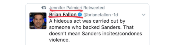 Jennifer Palmieri retweet
