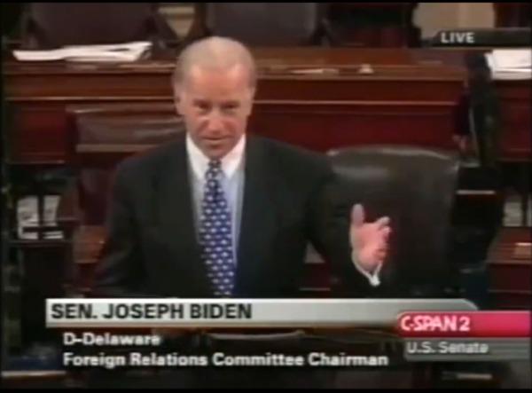 Sen Joe Biden