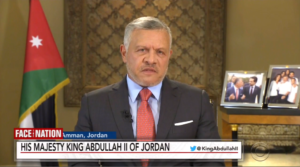 Face the Nation: Jordan's Abdullah