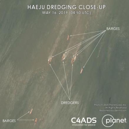 CNN: Haeju Dredging Closeup