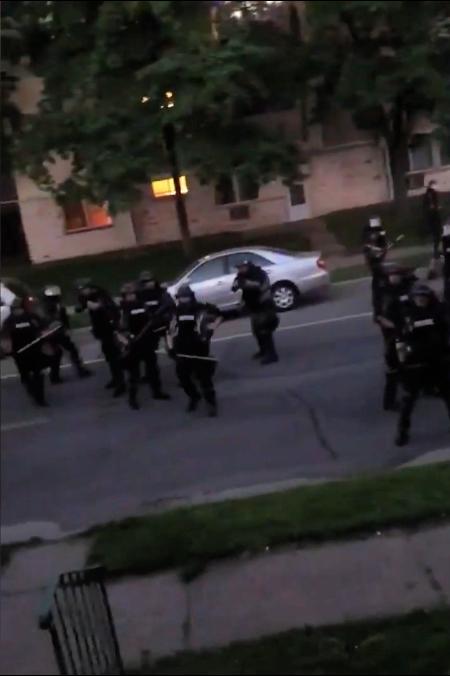 "NBC: ""aggressive tactics"" in Minneapolis"