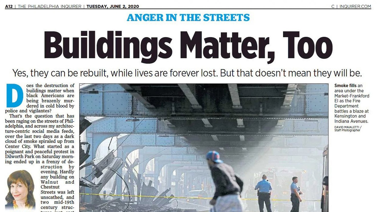 Philadelphia Inquirer: Buildings Matter, Too