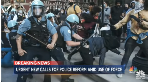 NBC: Urgent New Calls for Police Reform Amid Use of Force