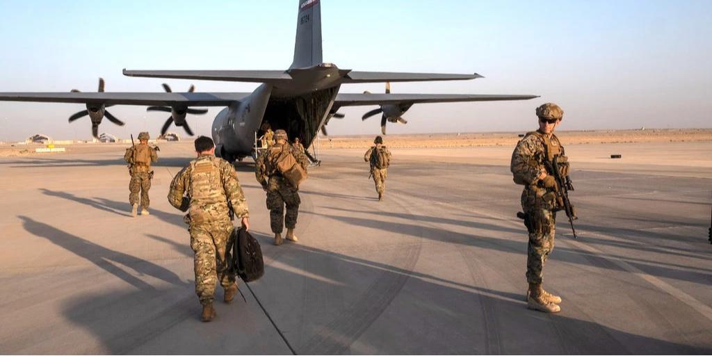 NYT depiction of US troops in Afghanistan (photo: Jim Huylebroek/New York Times)