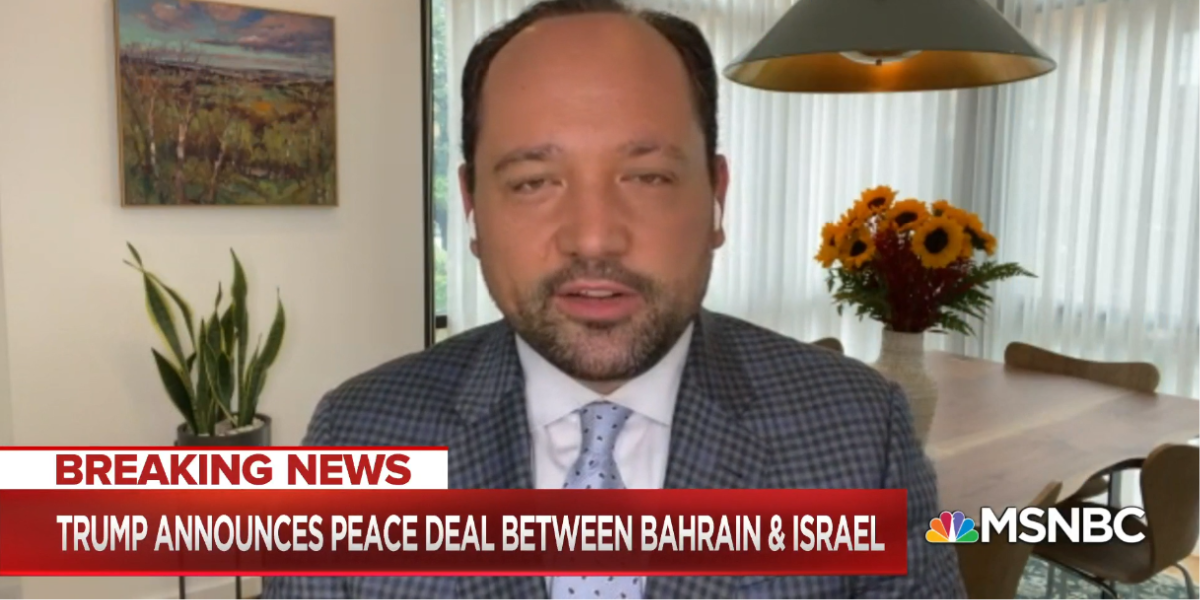 Israel Isn't Signing 'Peace' Deals