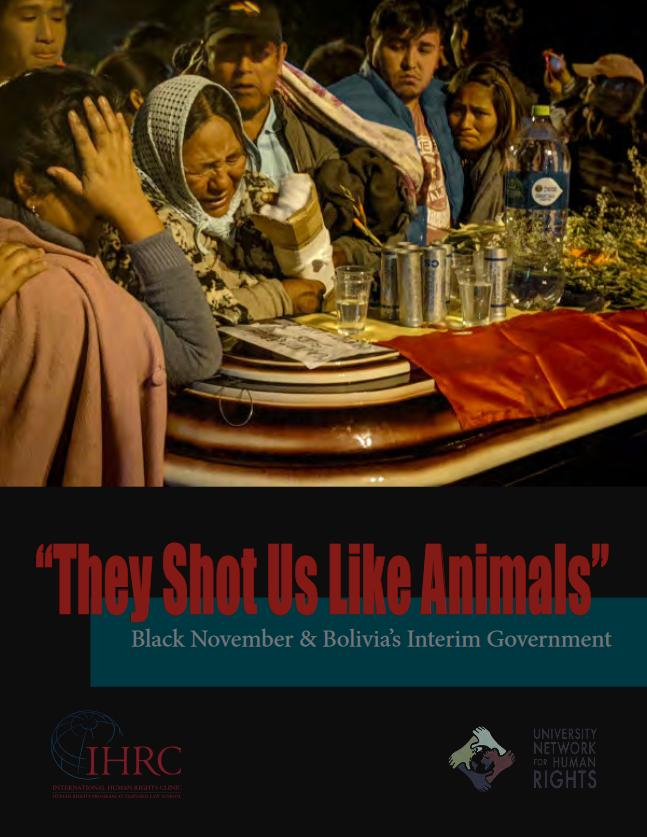 IHRC: They Shot Us Like Animals
