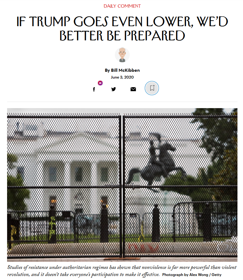 New Yorker: If Trump Goes Even Lower, We'd Better Be Prepared