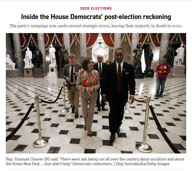 Politico: Inside the House Democrats' post-election reckoning