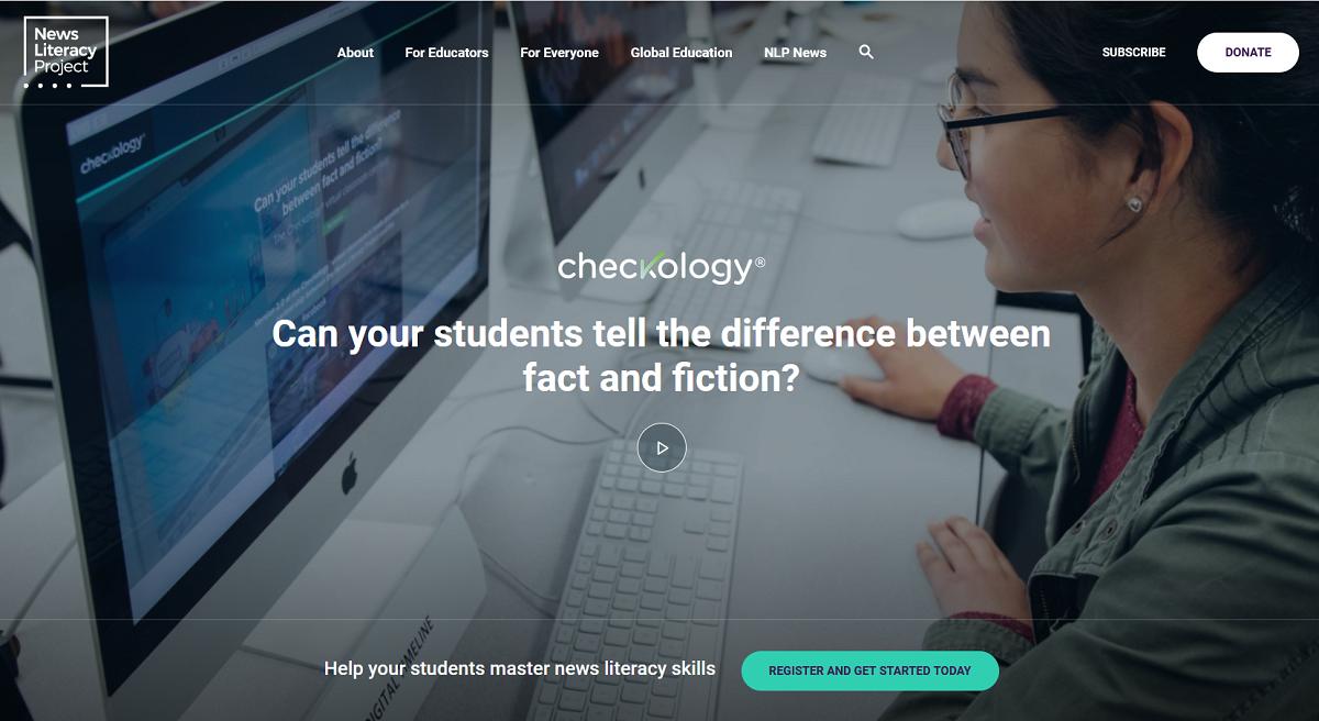 Checkology website
