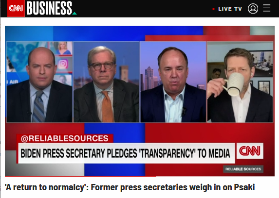 CNN: 'A Return to Normalcy'