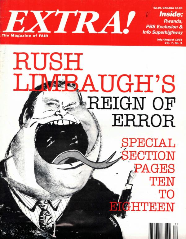 Extra!: Rush Limbaugh's Reign of Error
