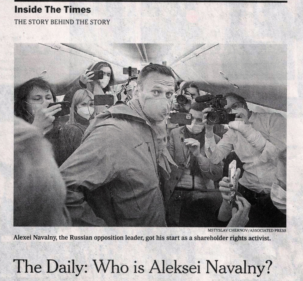 NYT: The Daily: Who Is Aleksei Navalny