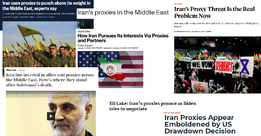 Media's Top Meaning for 'Proxy' Is 'Iranian Ally'