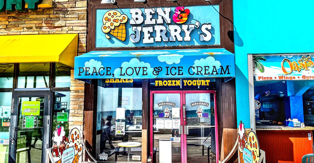 They All Scream Over Ben & Jerry's Not Selling Ice Cream on the West Bank