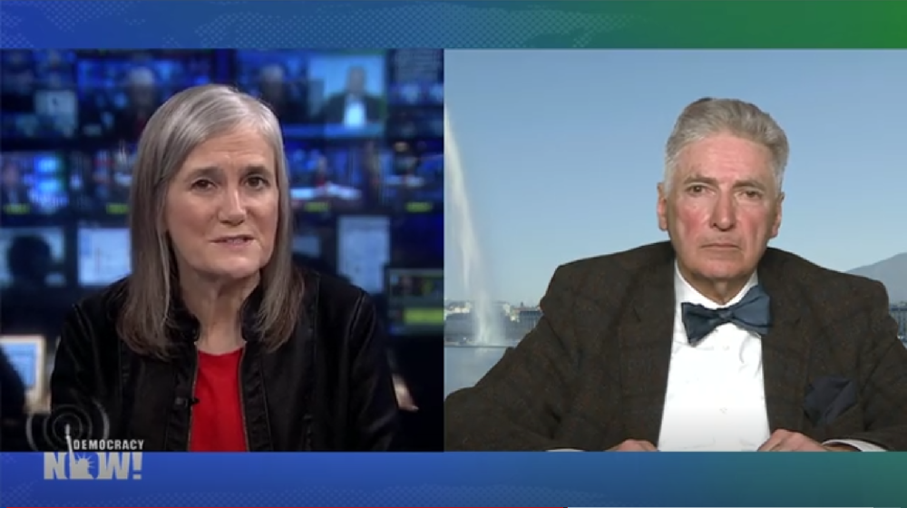 Amy Goodman and Alfred De Zayas on Democracy Now!