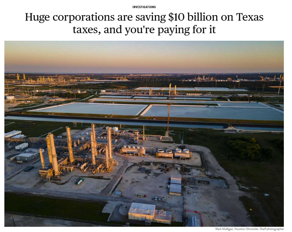 Huge Corporations Are Saving $10 Billion on Taxes, and You're Paying for It