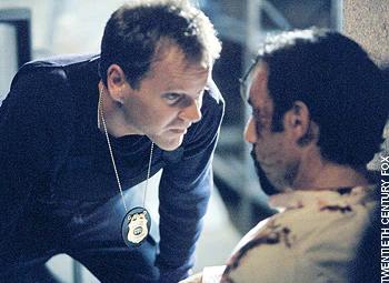 Kiefer Sutherland portrays a torturer on 24