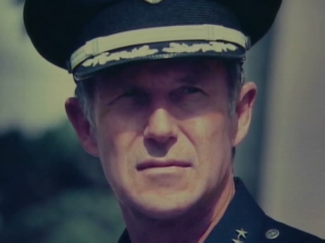 LAPD Chief Daryl Gates