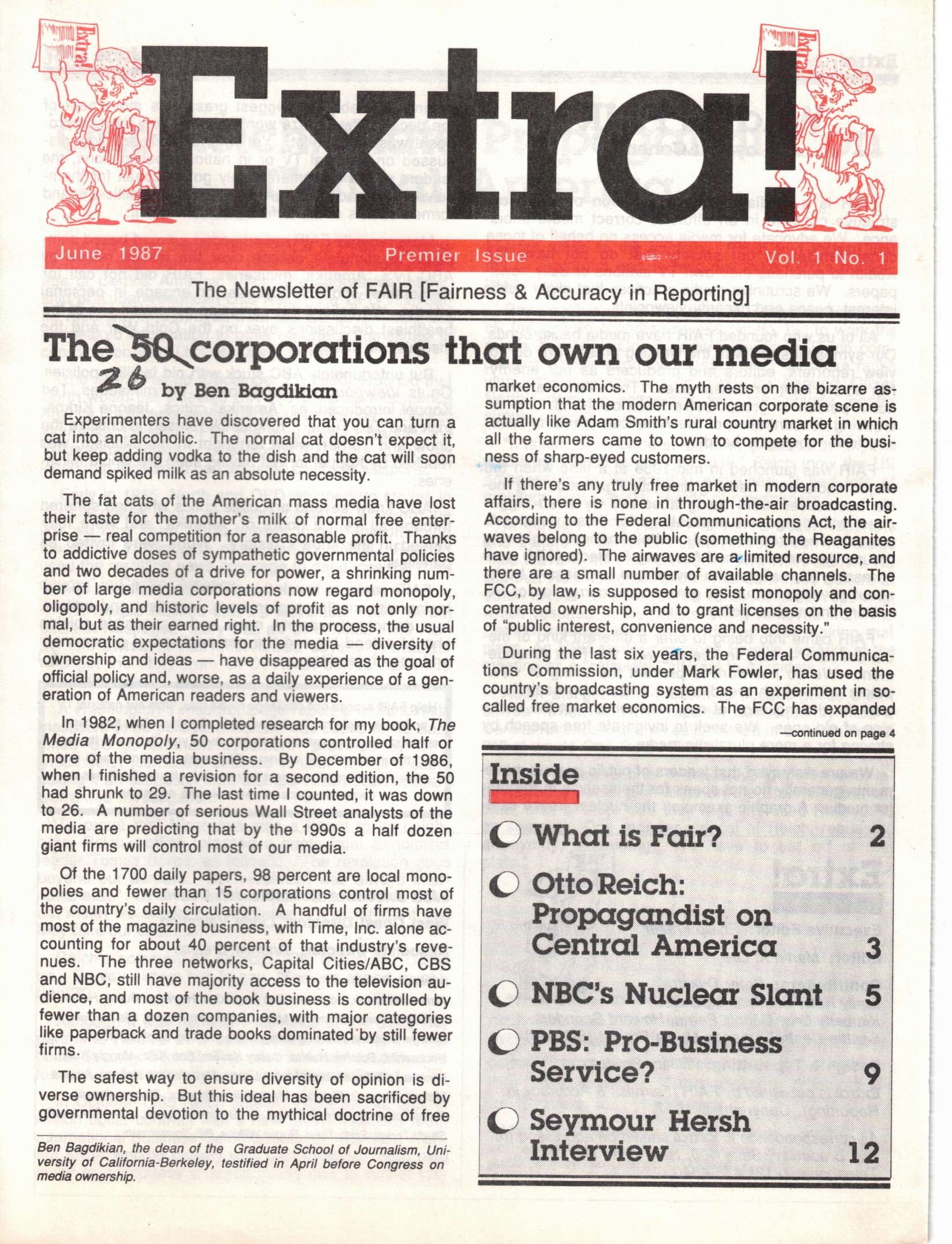 Extra! June 1987: The 25 Corporations That Own Our Media