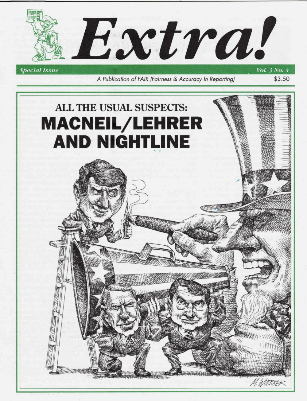Extra!: All the Usual Suspects MacNeil/Lehrer and Nightline