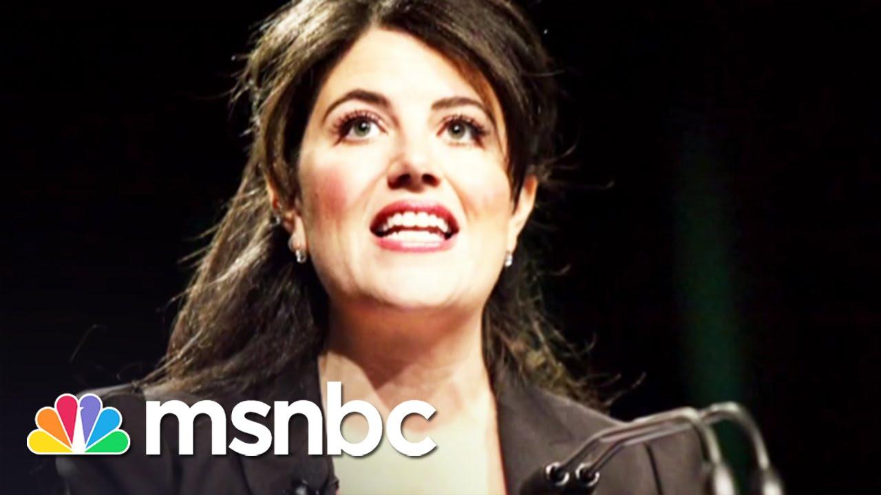 Monica Lewinsky on MSNBC