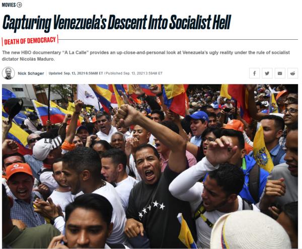 Daily Beast: Capturing Venezuela's Descent Into Socialist Hell